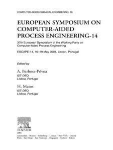 Ebook in inglese European Symposium on Computer Aided Process Engineering--14 -, -