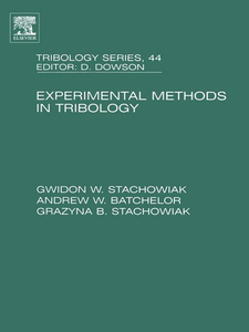 Ebook in inglese Experimental Methods in Tribology Batchelor, Andrew W , Stachowiak, Gwidon
