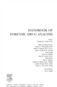 Foto Cover di Handbook of Forensic Drug Analysis, Ebook inglese di Fred Smith, edito da Elsevier Science
