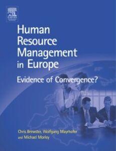 Ebook in inglese HRM in Europe -, -
