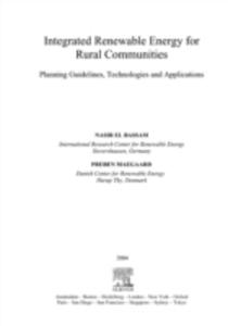 Ebook in inglese Integrated Renewable Energy for Rural Communities Bassam, Nasir El , Maegaard, Preben