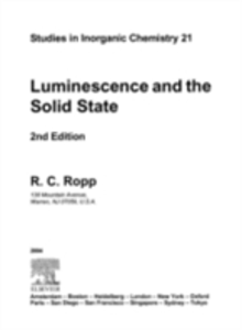Ebook in inglese Luminescence and the Solid State Ropp, Richard C.