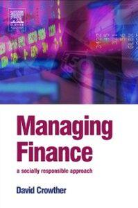 Foto Cover di Managing Finance, Ebook inglese di D. Crowther, edito da Elsevier Science
