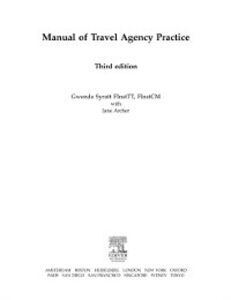 Ebook in inglese Manual of Travel Agency Practice Archer, Jane , Syratt, Gwenda