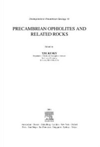 Ebook in inglese Precambrian Ophiolites and Related Rocks -, -