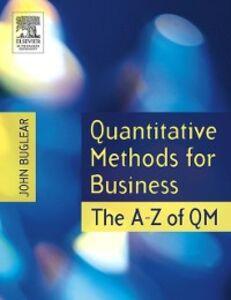 Ebook in inglese Quantitative Methods for Business Buglear, John