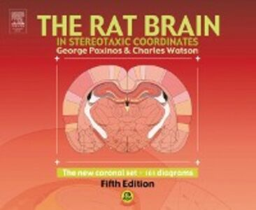 Ebook in inglese Rat Brain in Stereotaxic Coordinates - The New Coronal Set Paxinos, George