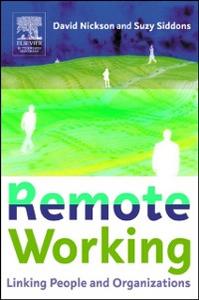 Ebook in inglese Remote Working Nickson, David , Siddons, Suzy