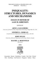 Inequality: Structures, Dynamics and Mechanisms