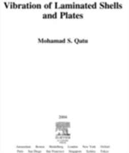 Ebook in inglese Vibration of Laminated Shells and Plates Qatu, Mohamad Subhi