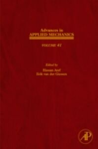 Foto Cover di Advances in Applied Mechanics, Ebook inglese di  edito da Elsevier Science