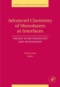 Ebook in inglese Advanced Chemistry of Monolayers at Interfaces -, -