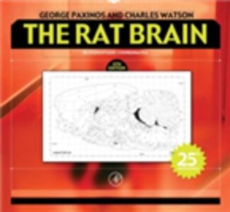 Foto Cover di Rat Brain in Stereotaxic Coordinates, Ebook inglese di George Paxinos,Charles Watson, edito da Elsevier Science