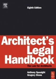 Ebook in inglese Architect's Legal Handbook Speaight, Anthony