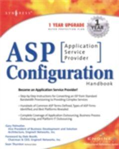 Foto Cover di ASP Configuration Handbook, Ebook inglese di Syngress, edito da Elsevier Science