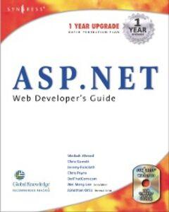 Ebook in inglese ASP.Net Web Developer's Guide Syngress
