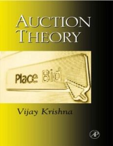 Ebook in inglese Auction Theory Krishna, Vijay