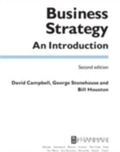 Ebook in inglese Business Strategy Campbell, David , Houston, Bill , Stonehouse, George