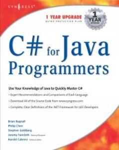 Ebook in inglese C# For Java Programmers Cabrera, Harold
