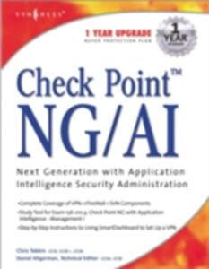 Foto Cover di Check Point Next Generation with Application Intelligence Security Administration, Ebook inglese di Syngress, edito da Elsevier Science