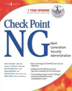Foto Cover di Checkpoint Next Generation Security Administration, Ebook inglese di Syngress, edito da Elsevier Science