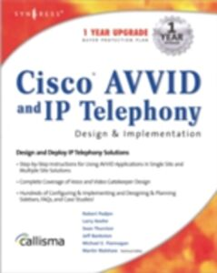Ebook in inglese Cisco AVVID and IP Telephony Design & Implementation Lawson, Wayne