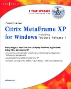 Ebook in inglese Configuring Citrix MetaFrame XP for Windows Syngress
