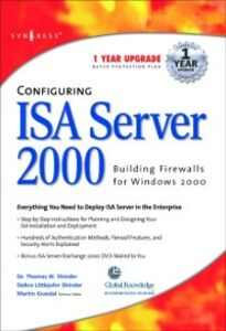 Ebook in inglese Configuring ISA Server 2000 Syngres, yngress