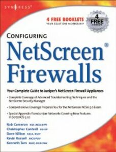 Ebook in inglese Configuring NetScreen Firewalls Cameron, Rob