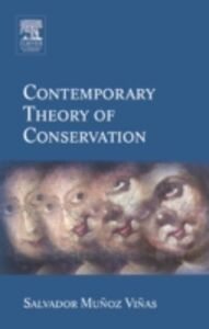 Ebook in inglese Contemporary Theory of Conservation Munoz-Vinas, Salvador