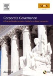 Foto Cover di Corporate Governance, Ebook inglese di Alex Knell, edito da Elsevier Science