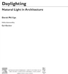 Ebook in inglese Daylighting Phillips, Derek