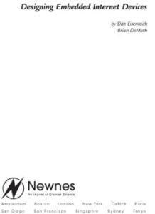 Ebook in inglese Designing Embedded Internet Devices DeMuth, Brian , Eisenreich, Dan
