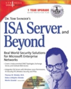 Foto Cover di Dr Tom Shinder's ISA Server and Beyond, Ebook inglese di Syngress, edito da Elsevier Science
