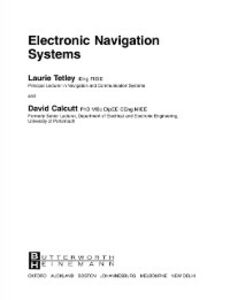 Ebook in inglese Electronic Navigation Systems Calcutt, David , Tetley, Laurie