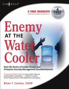 Ebook in inglese Enemy at the Water Cooler Contos, Brian T