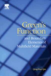 Foto Cover di Green's function and boundary elements of multifield materials, Ebook inglese di Qing-Hua Qin, edito da Elsevier Science