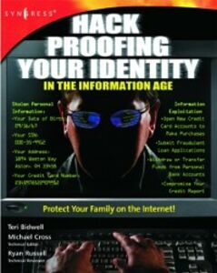 Ebook in inglese Hack Proofing Your Identity In The Information Age Syngress