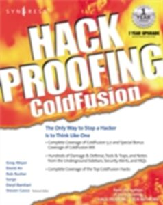 Ebook in inglese Hack Proofing ColdFusion Syngres, yngress
