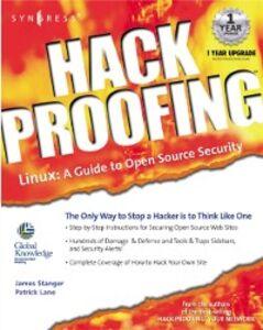 Ebook in inglese Hack Proofing Linux Lane, Patrick T. , Stanger, James