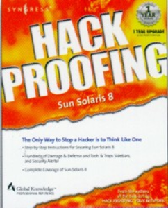 Ebook in inglese Hack Proofing Sun Solaris 8 Syngres, yngress