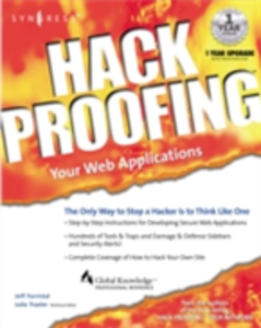 Ebook in inglese Hack Proofing Your Web Applications Syngres, yngress