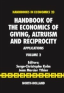 Ebook in inglese Handbook of the Economics of Giving, Altruism and Reciprocity -, -