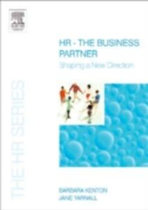 Ebook in inglese HR - The Business Partner Kenton, Barbara , Yarnall, Jane