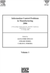 Ebook in inglese Information Control Problems in Manufacturing 2006