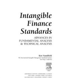 Ebook in inglese Intangible Finance Standards Standfield, Ken