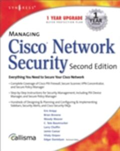 Ebook in inglese Managing Cisco Network Security 2E Syngres, yngress