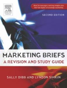 Ebook in inglese Marketing Briefs Dibb, Sally , Simkin, Lyndon