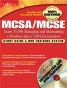 Ebook in inglese MCSA/MCSE Managing and Maintaining a Windows Server 2003 Environment (Exam 70-290) Syngres, yngress