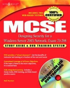 Ebook in inglese MCSE Designing Security for a Windows Server 2003 Network (Exam 70-298) Syngres, yngress